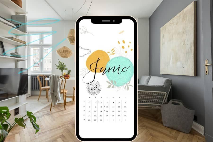 fondo pantalla calendario junio
